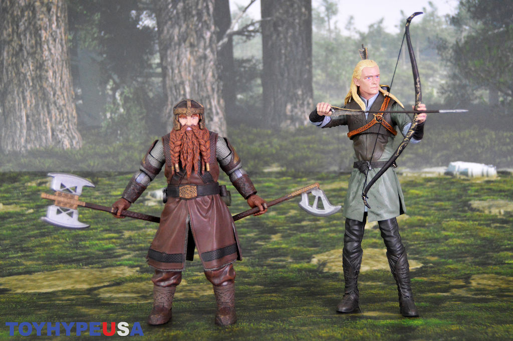 Diamond Select Toys Lord of the Rings Select Series 1 Legolas Figure Review