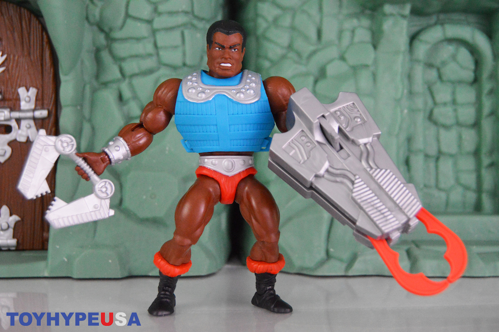 Mattel – Masters Of The Universe: Origins Clamp Champ Figure Review