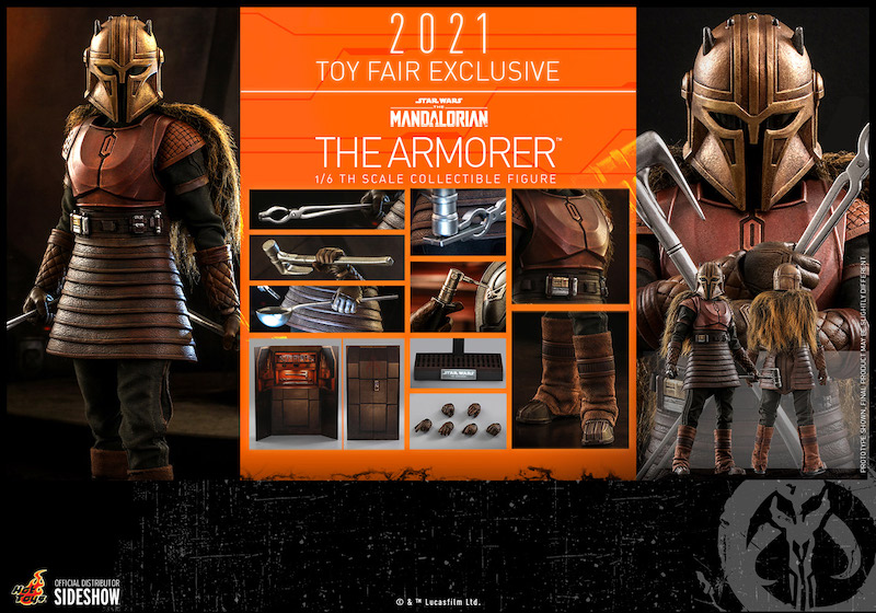Hot Toys Star Wars The Mandalorian The Armorer Sixth Scale Figure Pre-Orders