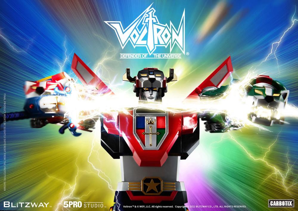 Blitzway Voltron: Defender of the Universe Carbotix Series Voltron Set Pre-Orders