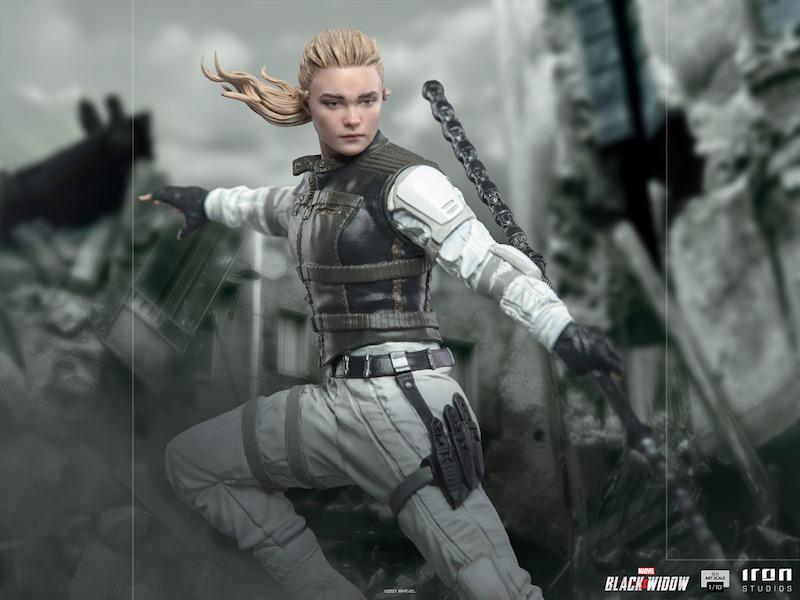 Iron Studios – Black Widow Movie – Yelena Belova Statue Pre-Orders