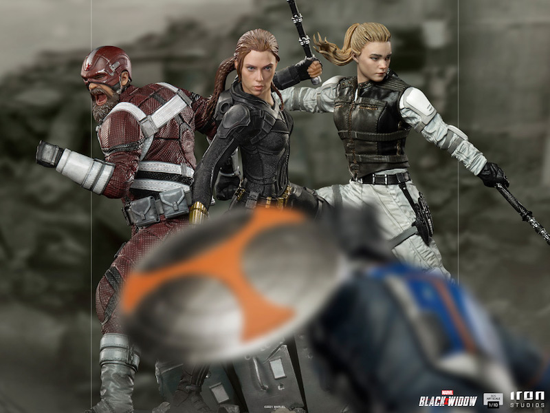 Iron Studios – Black Widow Movie – Red Guardian Statue Pre-Orders