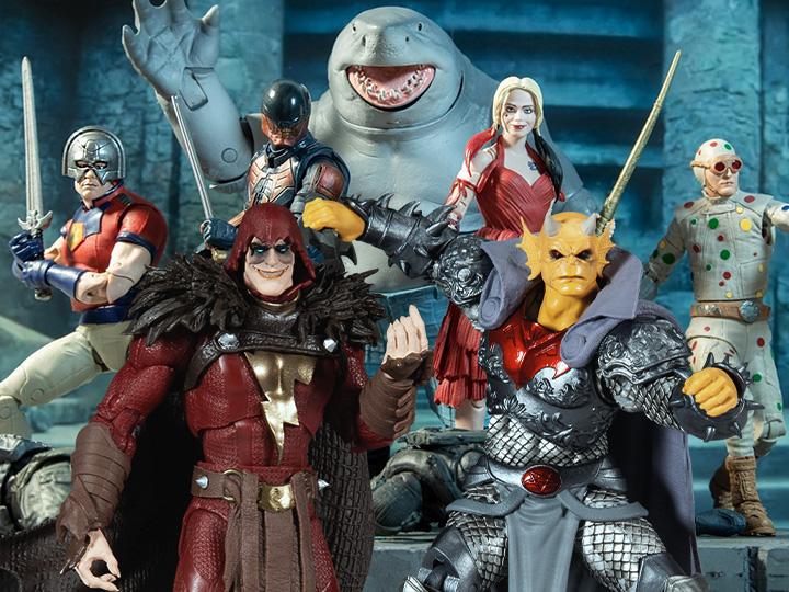 McFarlane Toys DC Multiverse Suicide Squad 2 King Shark C&C Figures Pre-Orders