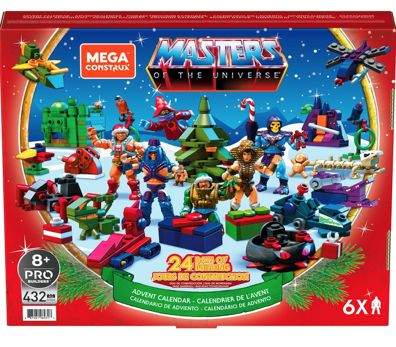 Mega Construx – Masters of the Universe Advent Calendar Set Pre-Orders (Update)