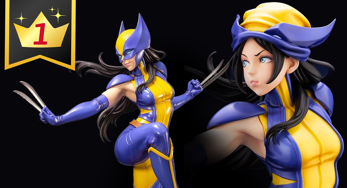 Hobby Link Japan – Laura Kinney as Wolverine, Plus WoW, Halo, & More