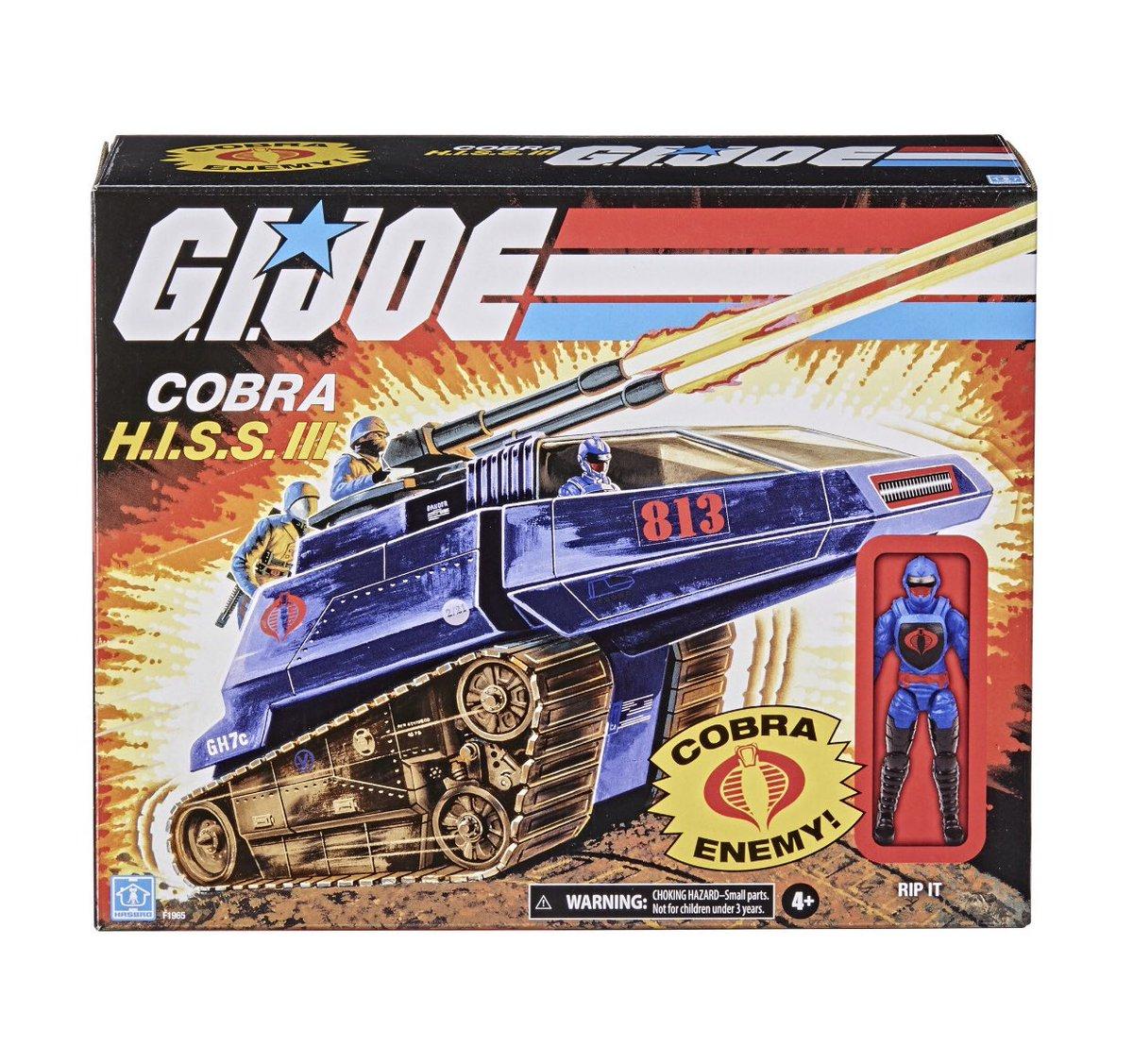 Hasbro GI Joe Cobra Officer, Graves & Hiss Tank Pre-Orders At Wal-Mart