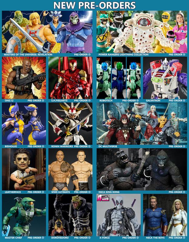 BigBadToyStore News –  MOTU, Transformers, Marvel, Power Rangers, Bishoujo, Bandai Model Kits, Banpresto, DC Multiverse, The Boy & More
