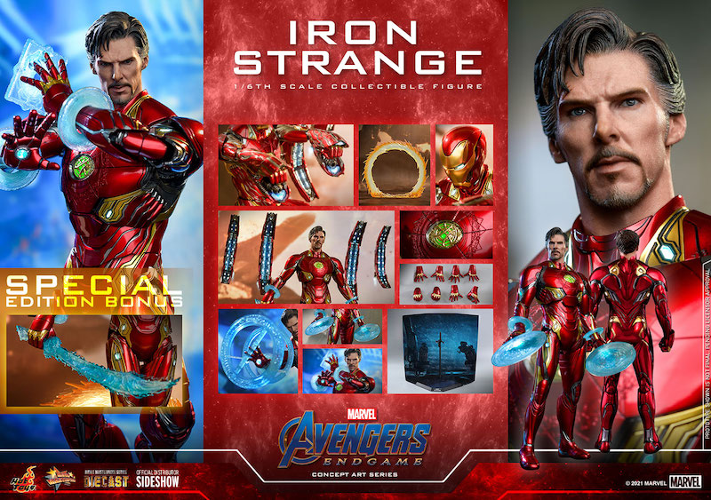 Hot Toys Iron Strange & Black Widow Special Edition Sixth Scale Figures Pre-Orders