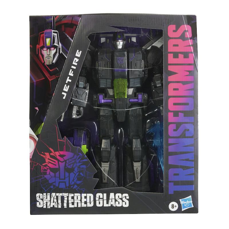 Hasbro Transformers: Generations Shattered Glass Commander Class Jetfire Figure