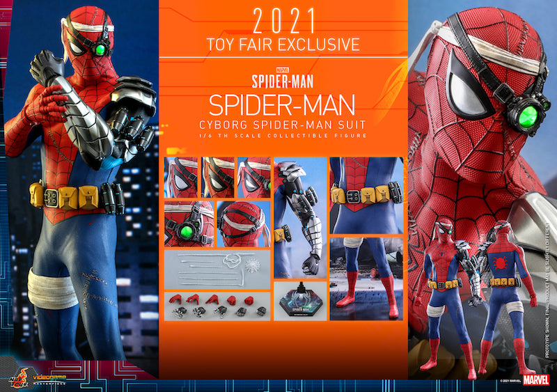 Hot Toys Marvel's Spider-Man – Cyborg Spider-Man Suit Sixth Figure Pre-Orders