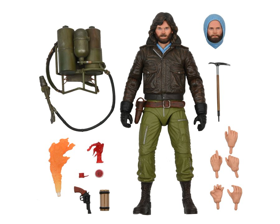 NECA Toys Gremlins Accessory Pack & The Thing MacReady Figures