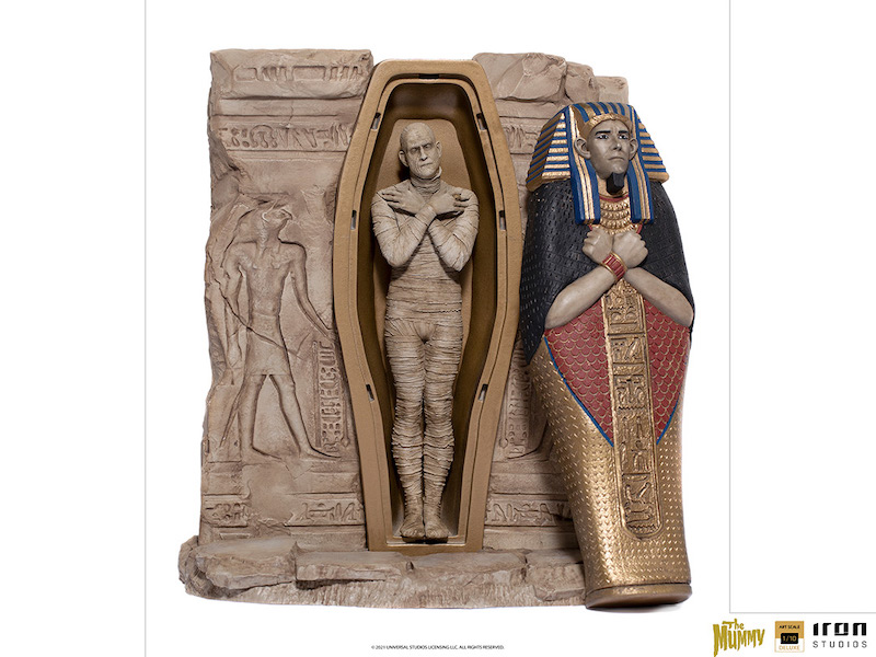 Iron Studios – Universal Monsters The Mummy Statues Pre-Orders