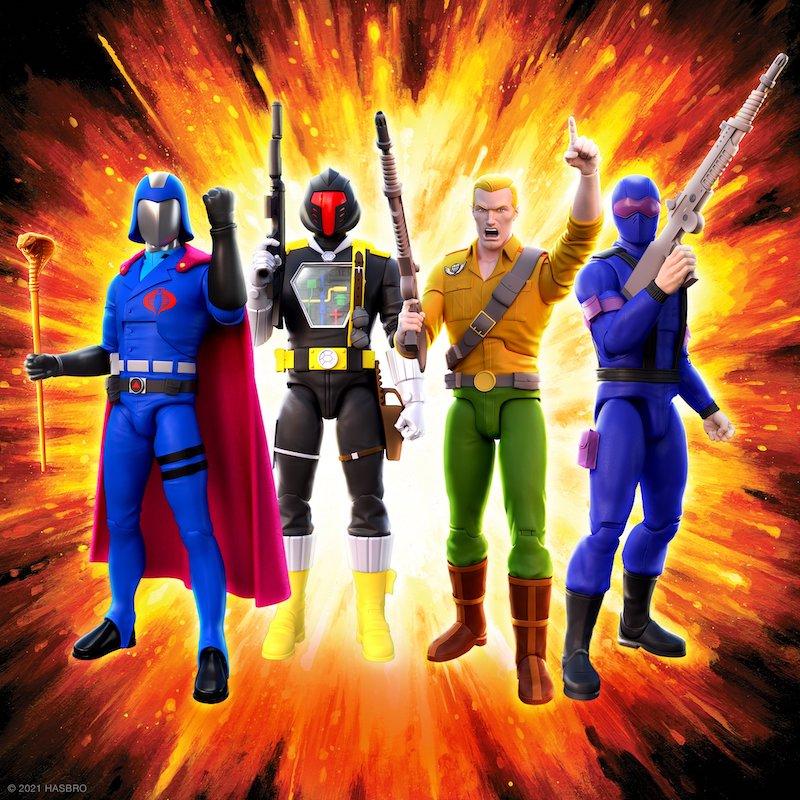 Super7 G.I. Joe Ultimates Wave 1 Figures Pre-Orders