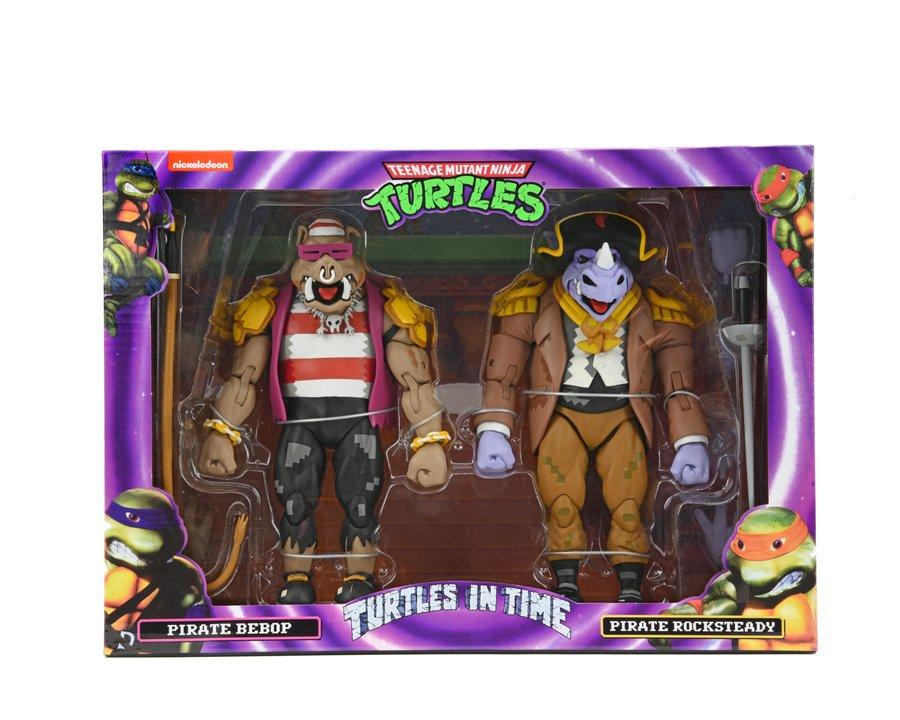 NECA Toys Shipping This Week – Teenage Mutant Ninja Turtles: Turtles In Time & The Thing MacReady Figures