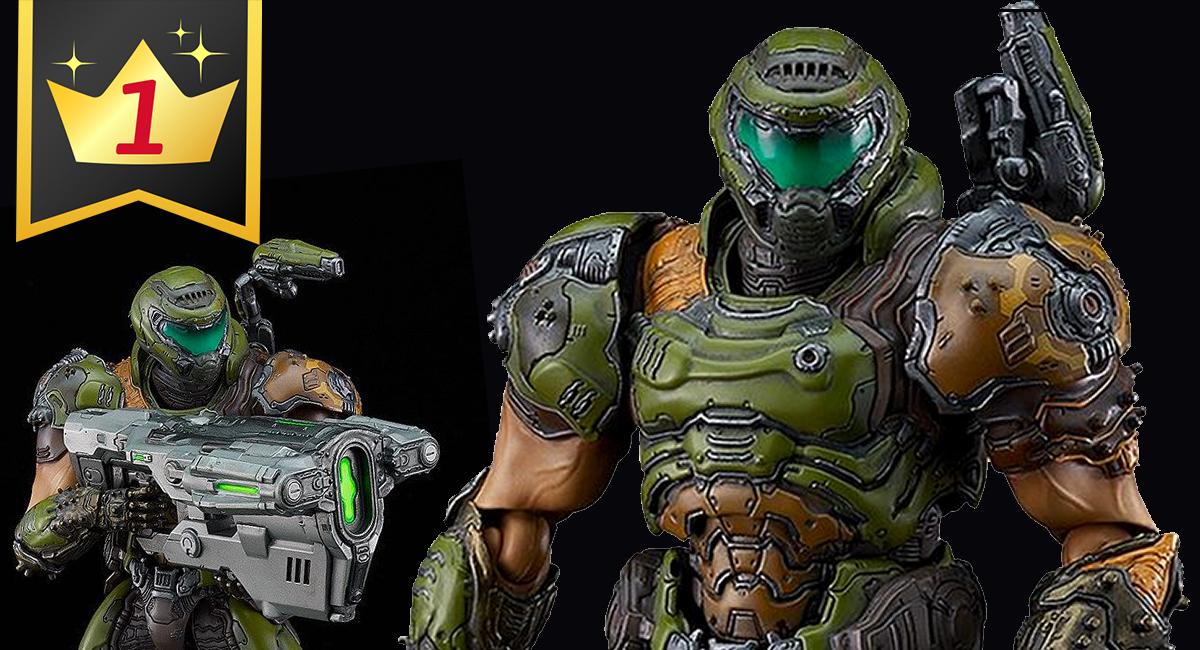 Hobby Link Japan – New Figures From Doom, Spider-Man, Attack on Titan & More