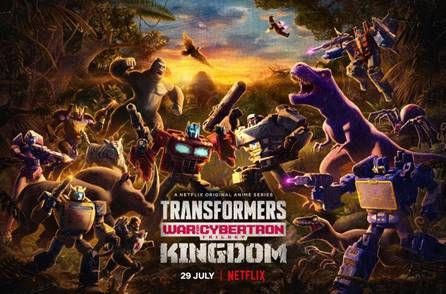 Transformers War For Cybertron: Kingdom Series Now Streaming On Netflix