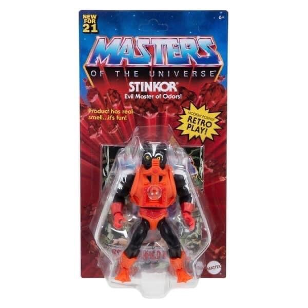 Mattel – Masters of the Universe: Origins Wave 6 Figures In-Packaging