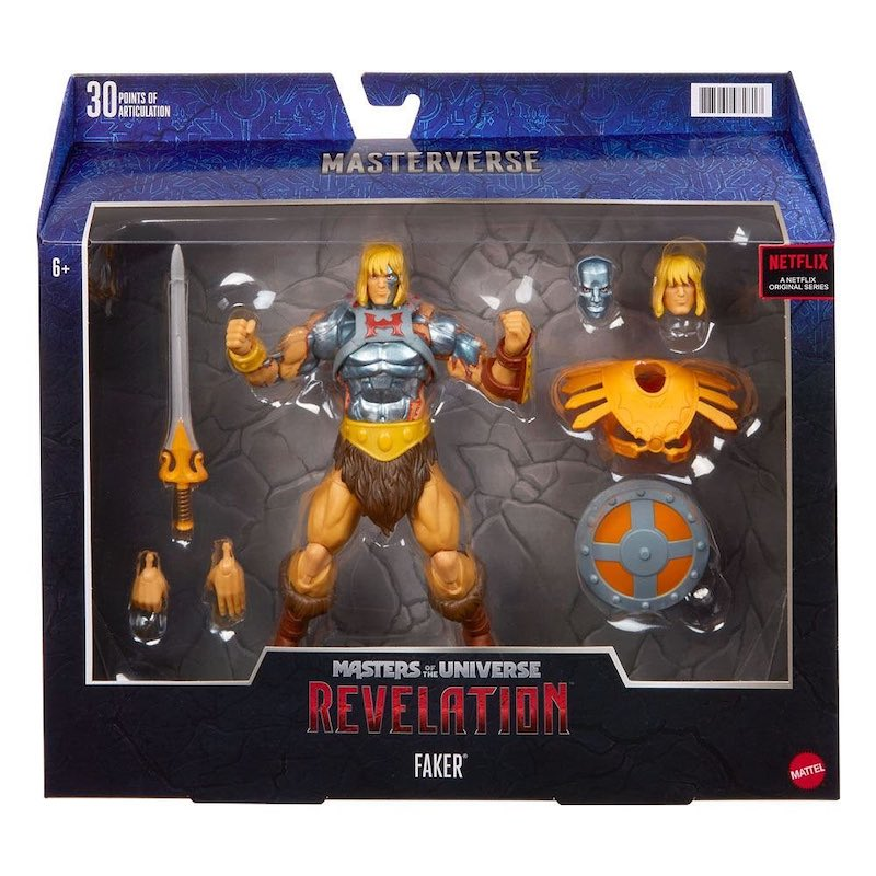 Mattel – Masters of the Universe: Revelation – Faker Figure