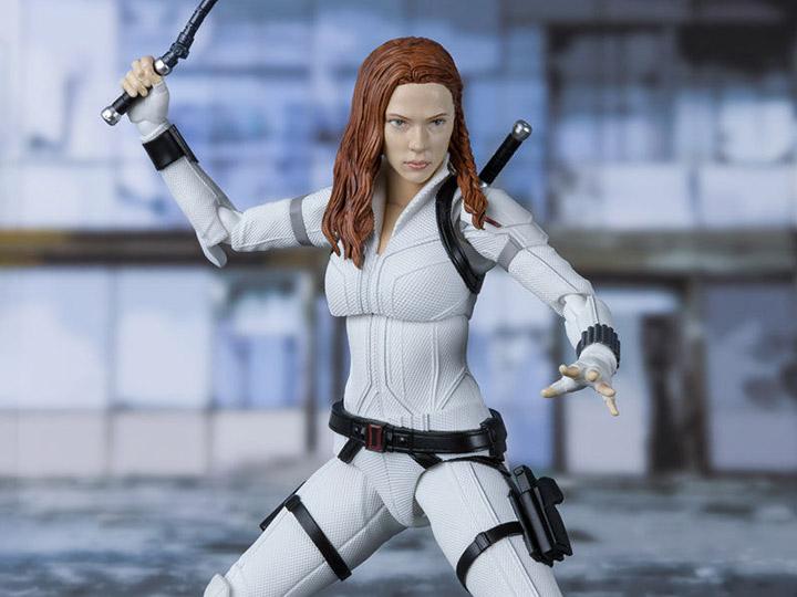 S.H. Figuarts Black Widow (White Snow Suit Ver.) Exclusive Figure Pre-Orders