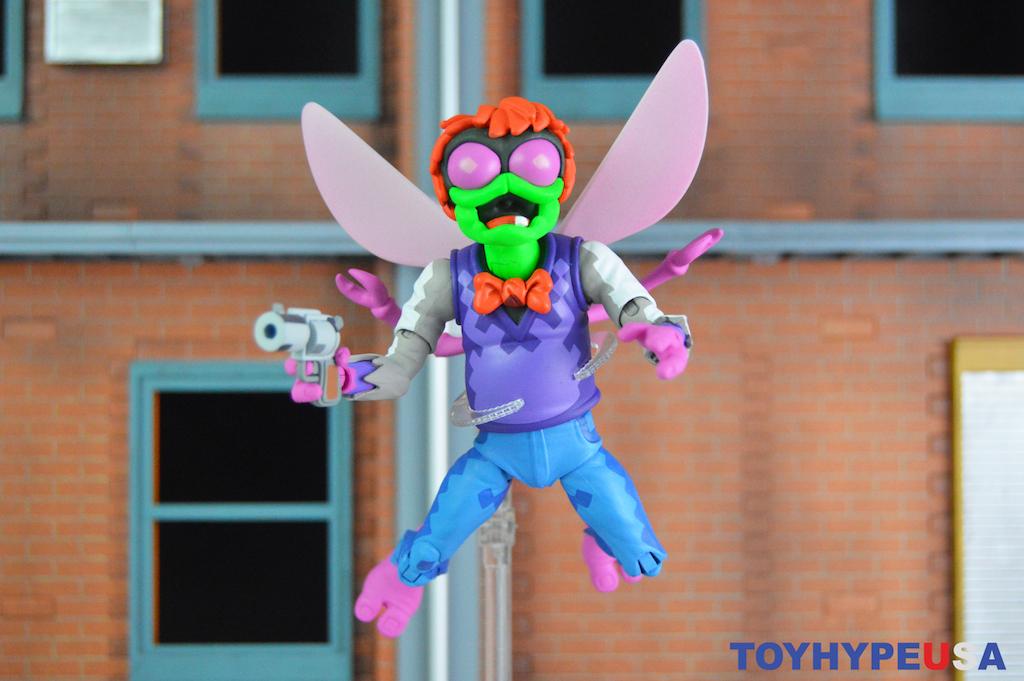 NECA Toys Teenage Mutant Ninja Turtles: Turtles In Time Baxter Stockman Figure Review