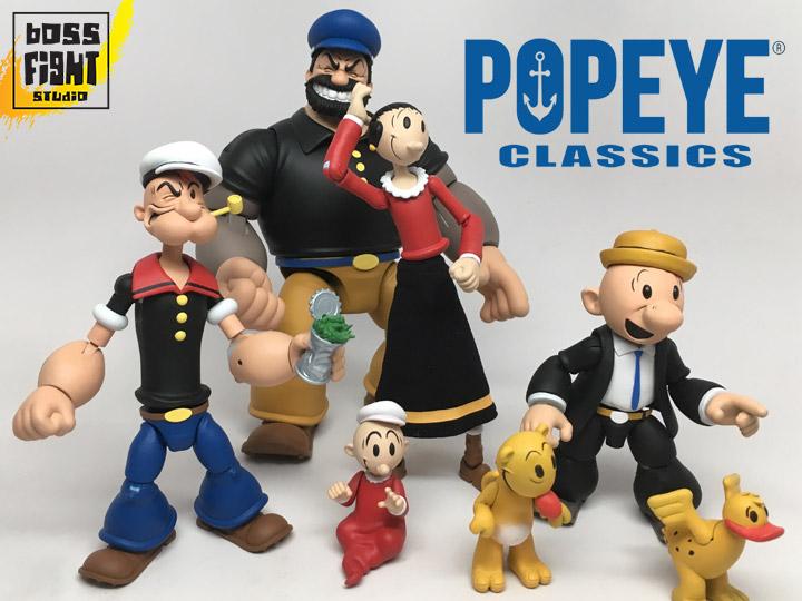 Boss Fight Studio – Popeye Classic Figure Pre-Orders