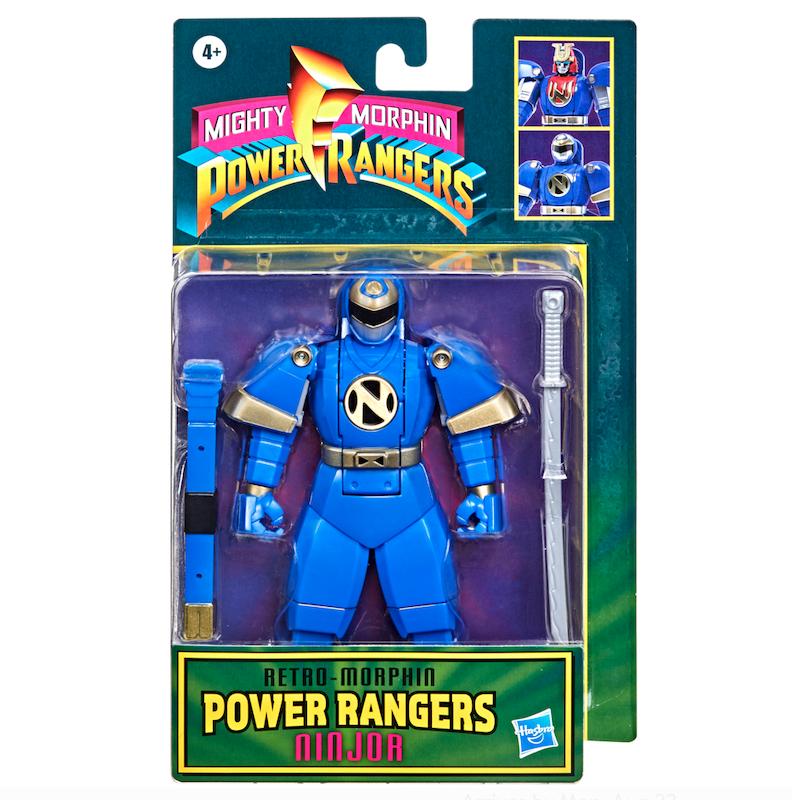 Hasbro Mighty Morphin Power Rangers Retro-Morphin Ninjor Fliphead Figure Pre-Orders