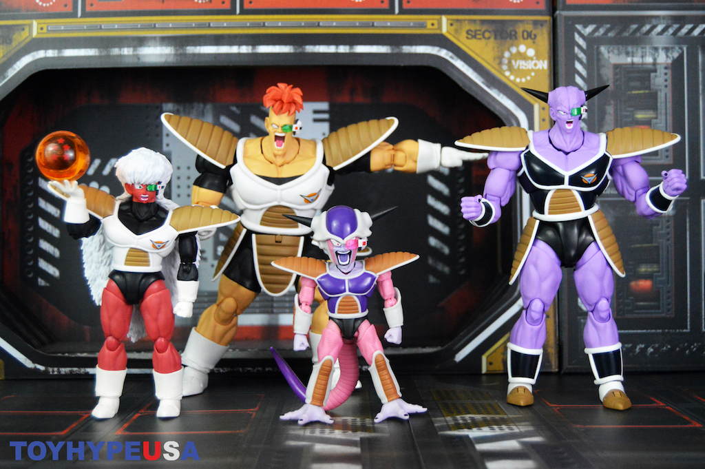 Tamashii Nations S.H. Figuarts Dragon Ball Z First Form & Frieza Pod Figure Review