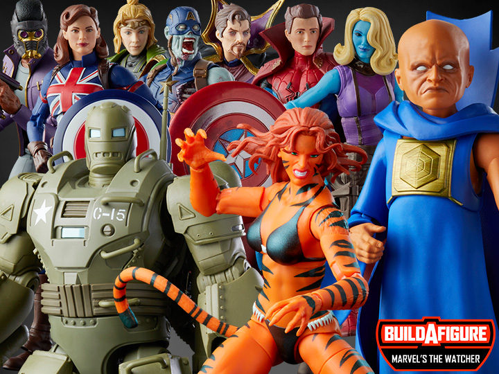 Hasbro Marvel Legends What If…?, Hydra Stomper, Retro Collection Tygra Figure Pre-Orders