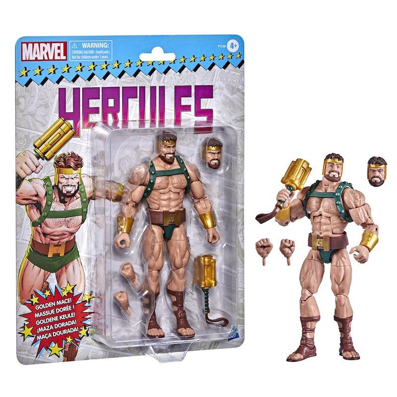 Hasbro Marvel Legends 6″ Retro Carded Hercules Figure Pre-Orders