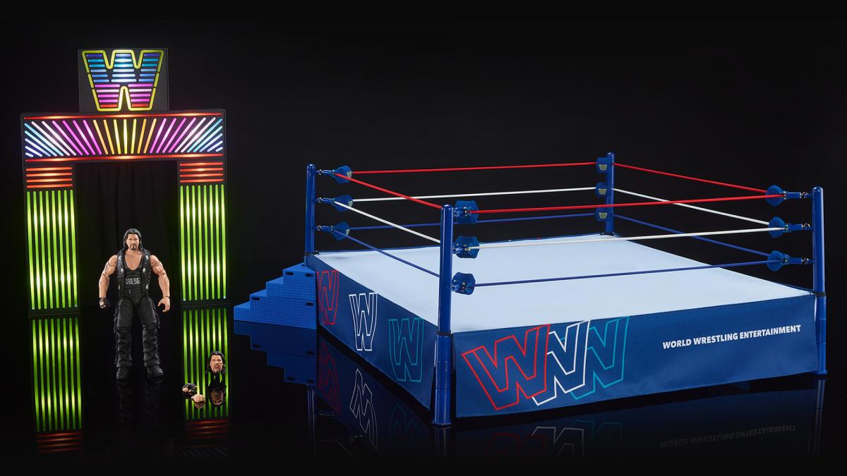 Mattel Creations – WWE Ultimate Edition New Generation Arena With Diesel Figure