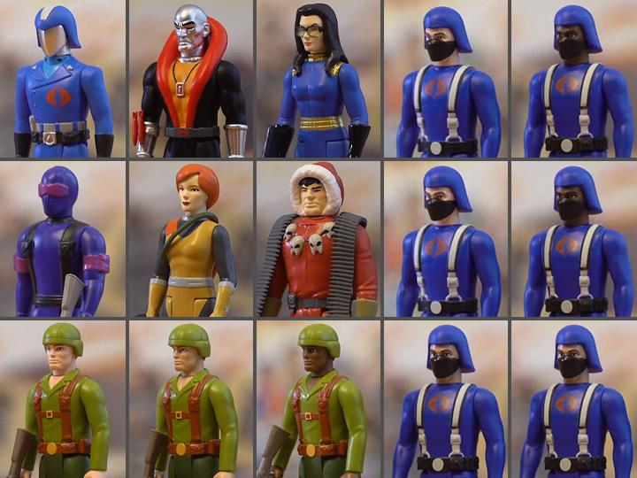 Super7 G.I. Joe ReAction Series Figure Pre-Orders