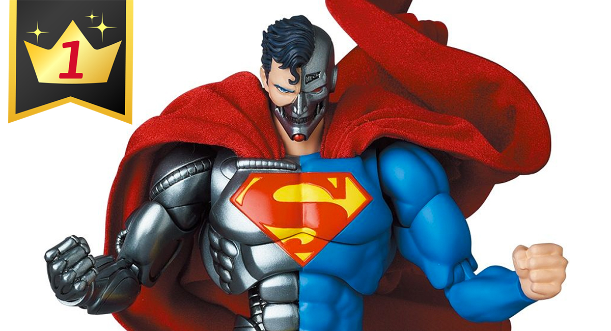Hobby Link Japan – Cyborg Superman, figma Link, MP Nightbird & More
