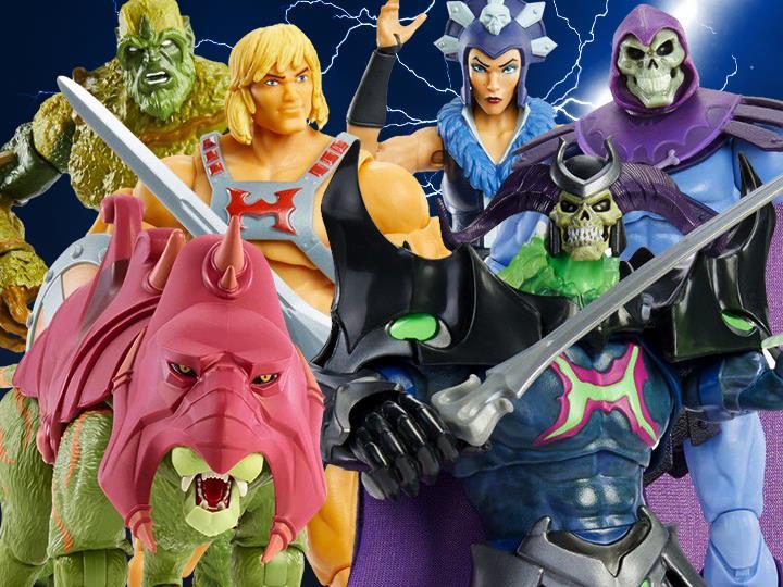 Mattel – Masters of the Universe Revelation Masterverse Wave 1 & 2 Figures Pre-Orders