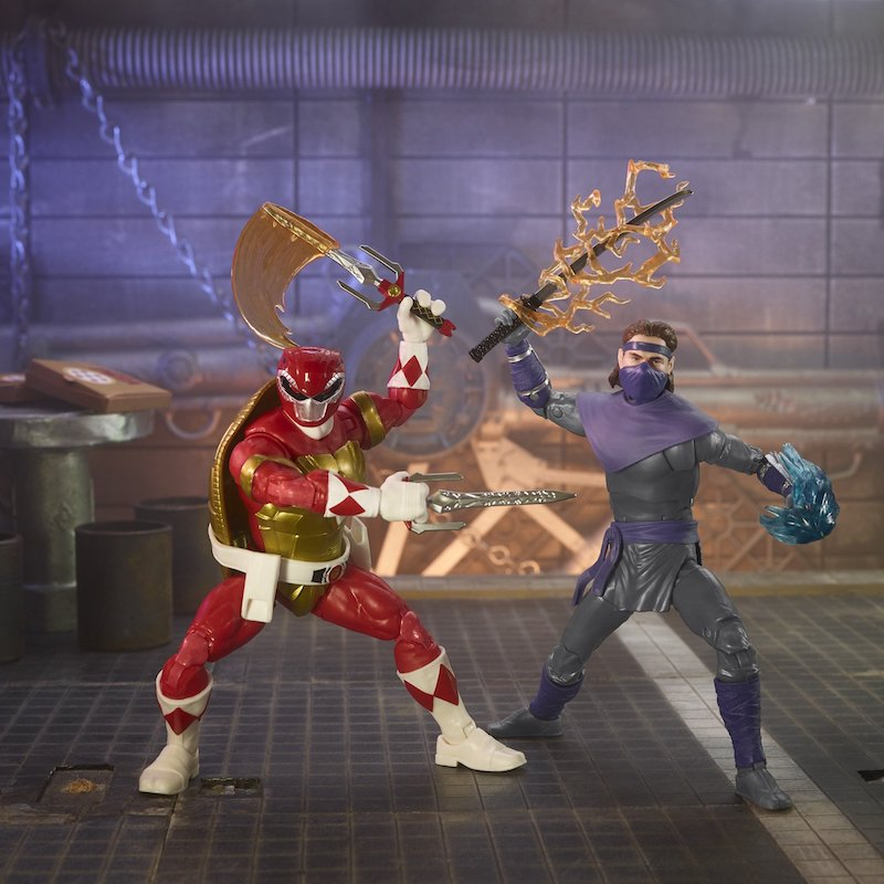 Hasbro Teenage Mutant Ninja Turtles x Power Rangers 6″ Morphed Rapahel & Foot Soldier Tommy Figure Pre-Orders