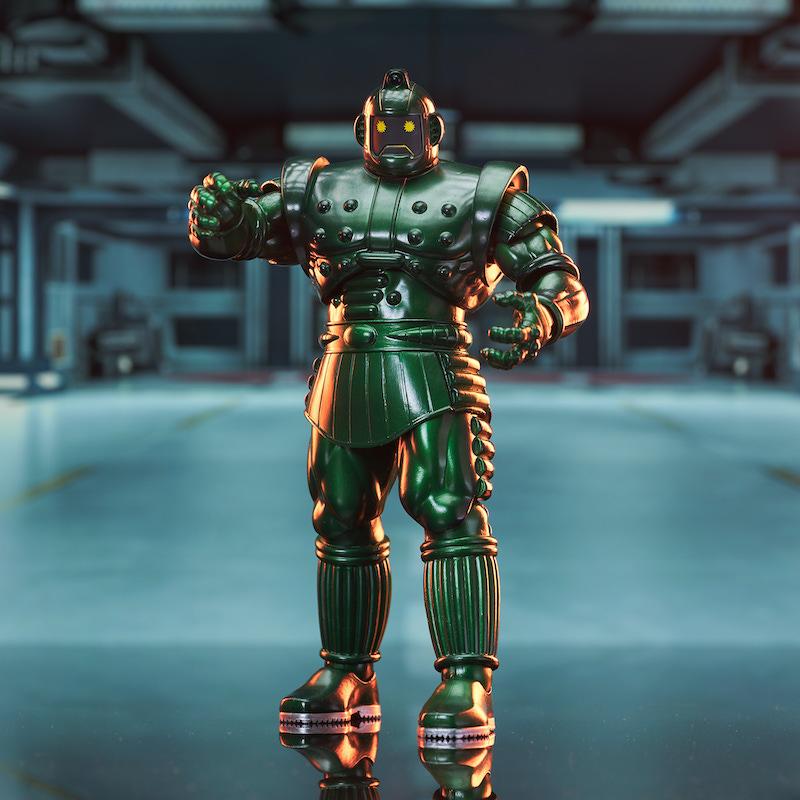 Diamond Select Toys Marvel Select Titanium Man Available Now