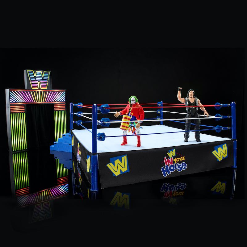 Mattel – WWE Ultimate Edition Arena – New Mock-Up Images