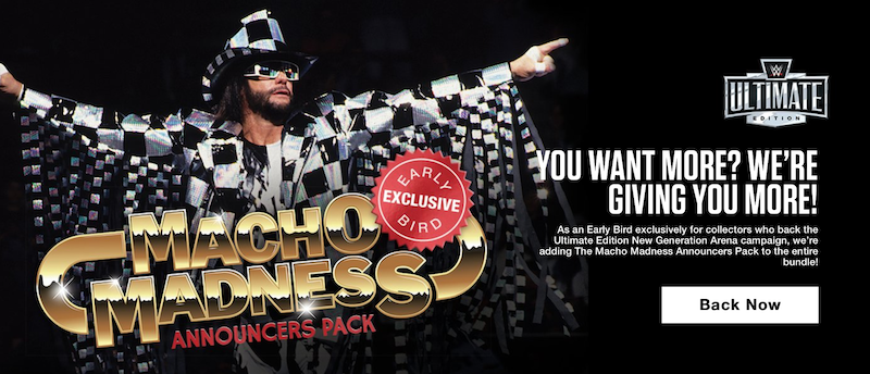 Mattel Creations – WWE Ultimate Edition New Generation Arena Gets A Macho Bonus