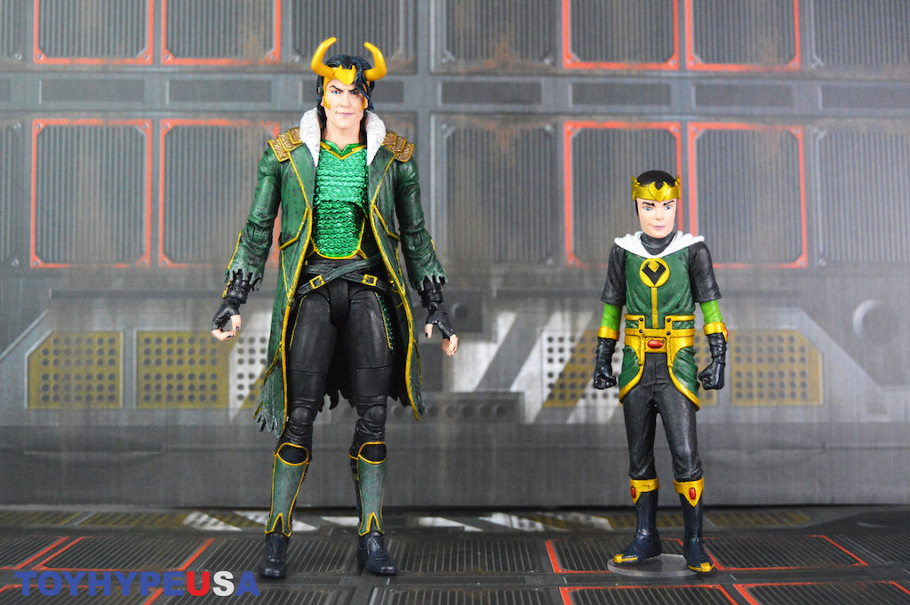 Diamond Select Toys Marvel Select Loki Special Collector Edition Figure Set Review