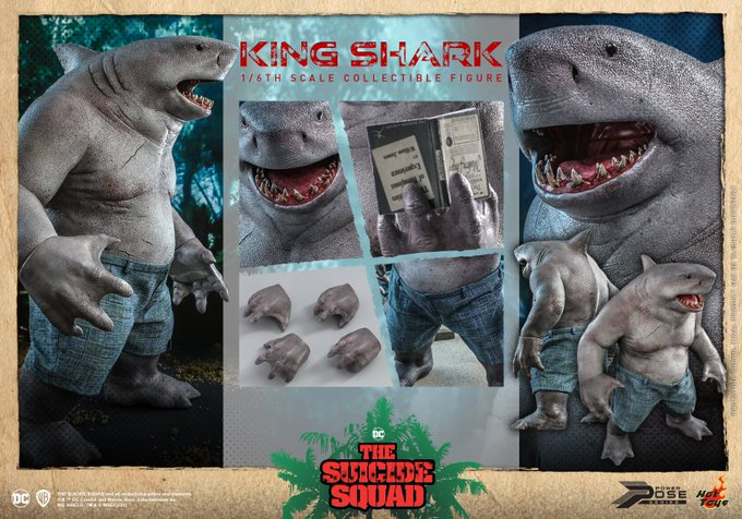 Hot Toys The Suicide Squad 2 – King Shark Sixth Scale Figure Pre-Orders