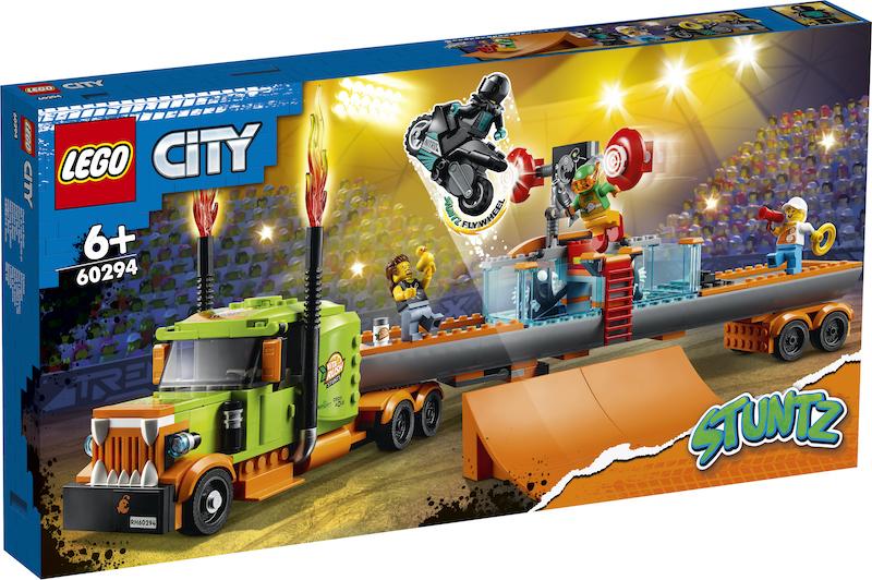 LEGO Announces 10 New City Stuntz Sets