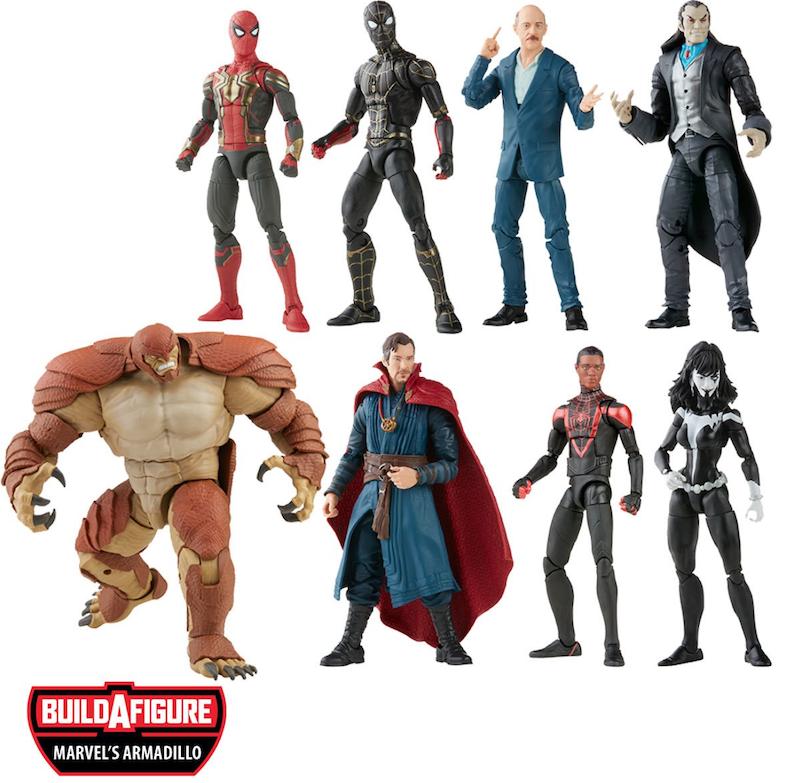 Hasbro Marvel Legends 6″ Spider-Man – Armadillo Build-A-Figure Wave Pre-Orders