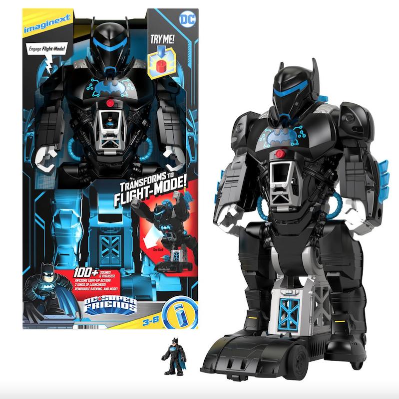 Fisher-Price Imaginext DC Super Friends Bat-Tech BatBot