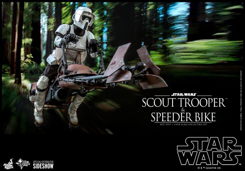 Hot Toys Star Wars Scout Trooper & Speeder Bike Sixth Scale Figure Pre-Orders