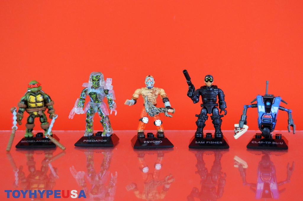 Mega Construx Heroes Wave 3 Figures Review