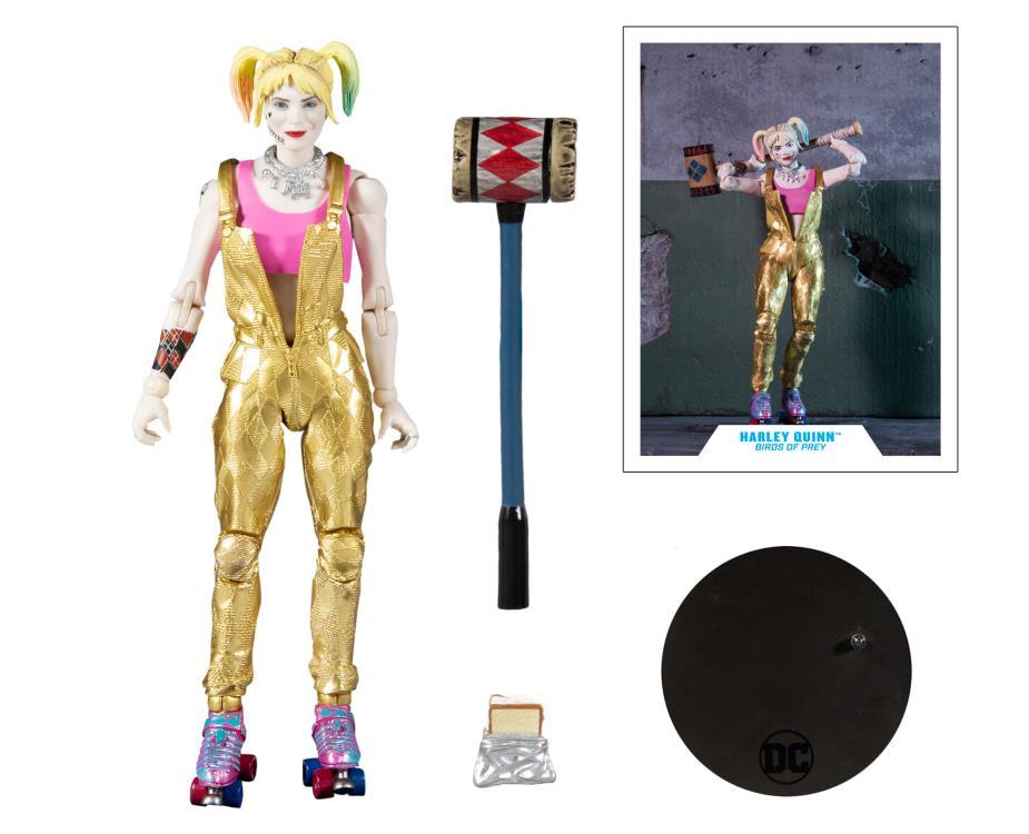 McFarlane Toys Birds of Prey DC Multiverse Harley Quinn Figure Pre-Orders