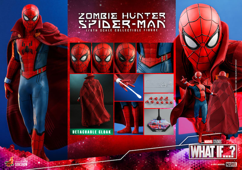 Hot Toys Marvel's What If…? Zombie Hunter Spider-Man Sixth Scale Figure Pre-Orders