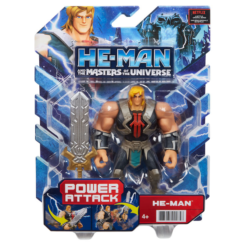 Mattel Announces New Masters of the Universe Toys Geared To Kids – New Series On Netflix