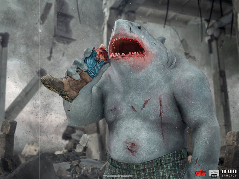 Iron Studios – The Suicide Squad 2 King Shark Statue Pre-Orders