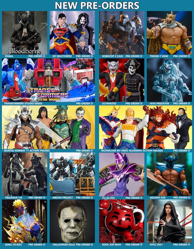 BigBadToyStore News – Bloodborne, DC Multiverse, Transformers, RoboCop, Yu-Gi-Oh!, Mortal Kombat, Power Rangers, Tekken, TMNT & More