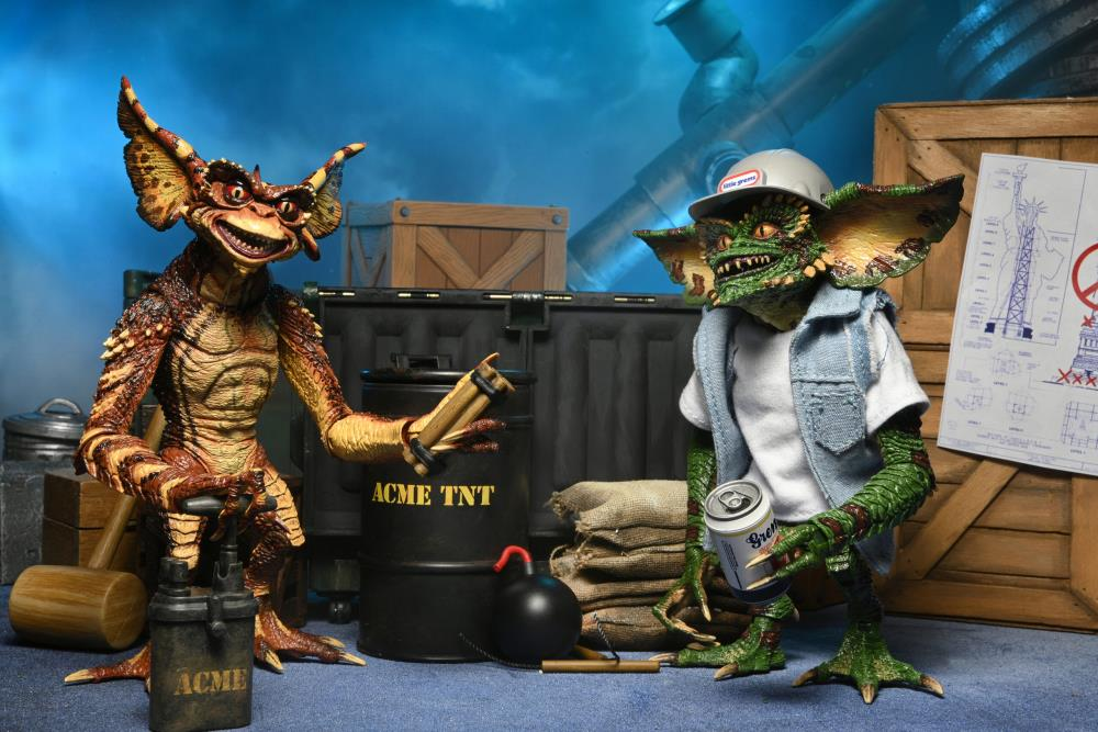 NECA Toys Gremlins 2: The New Batch Demolition Gremlins Two-Pack Pre-Orders